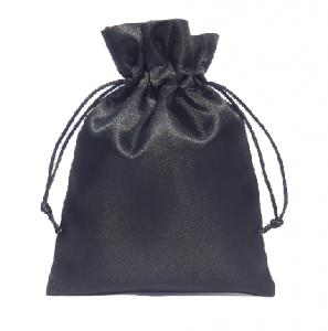 saténové sáčky černé 15x20cm 450x450
