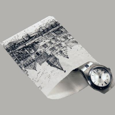 1000 kusů Papírových Sáčků Nostalgické Fasády