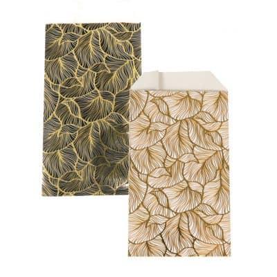 150 kusů Papírových Sáčků Zlaté listy si Vyberete Barvu a Velikost