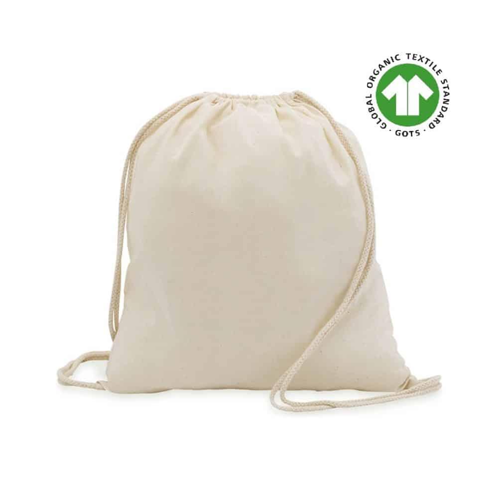 50 kusů Bavlněných Ekologický Batohů 37x41cm 100% Bavlna