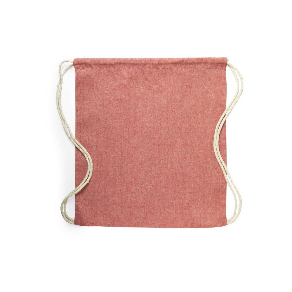 50 ks Batohů 100% Recyklovaná Bavlna ve 4 Barvách červená