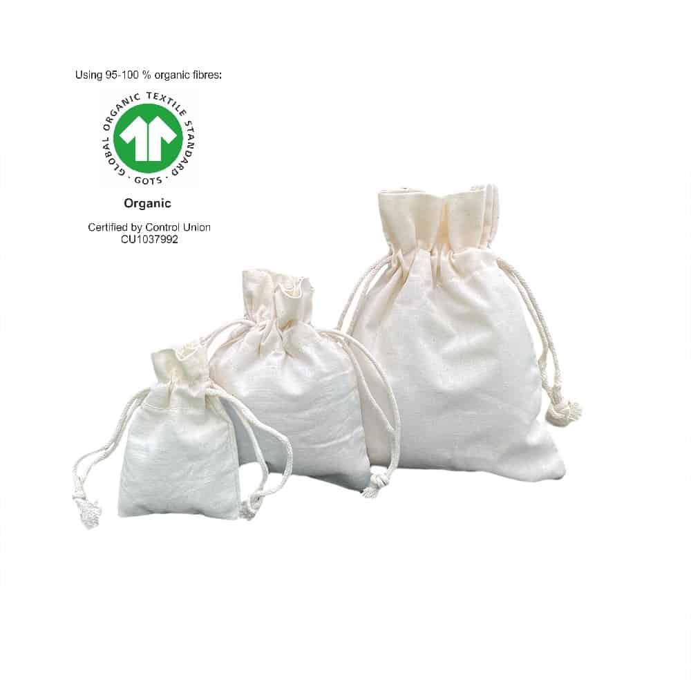 Ekologické bavlněné tašky 116 g m2 (2)