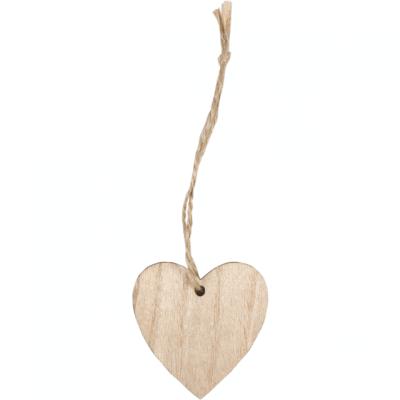 Přívěsek Dřevěné Srdce